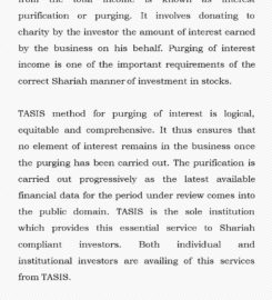 Taqwaa Advisory and Shariah Investment Solutions (P) Ltd.